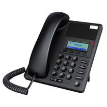 Enterprise 唿 E302 IP telephone Internet phone sip phone three-party call can be equipped with headphones