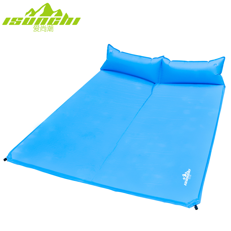 Love Shangchao Moisture Pad Double Automatic Inflatable Pad Outdoor Floor Mat Thicken Tent Camping Mat Air Cushion Sleeping Mat
