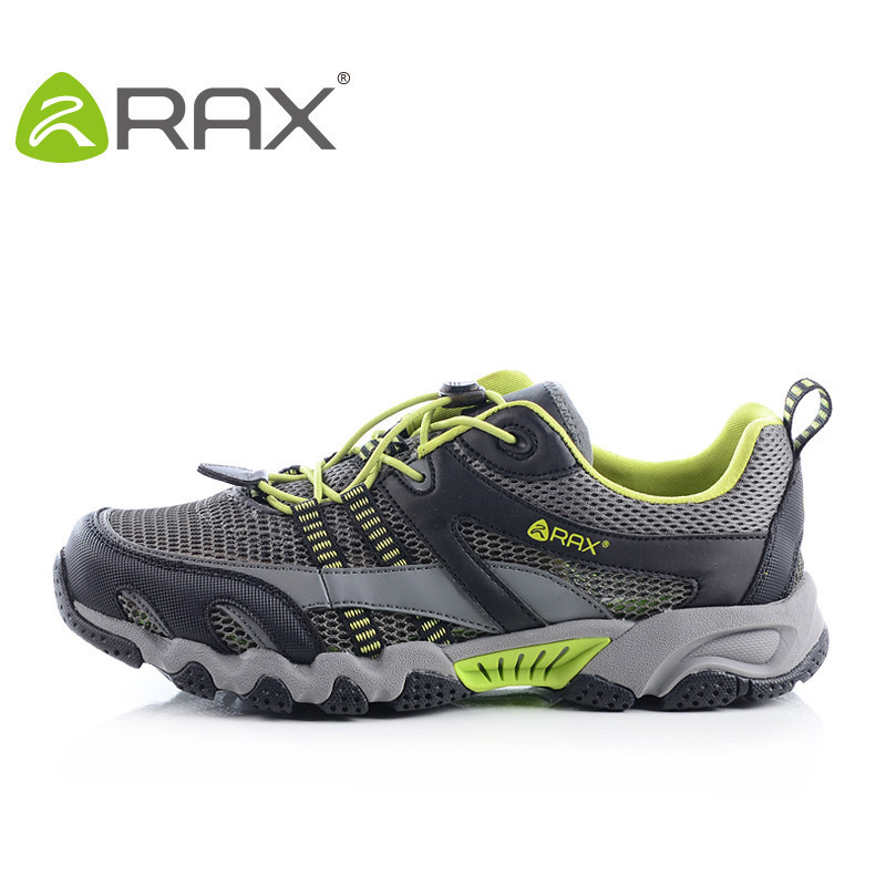 RAX anti-skid river shoes men's lightweight breathable speed interference shoes outdoor men's shoes fishing shoes - 泾渭