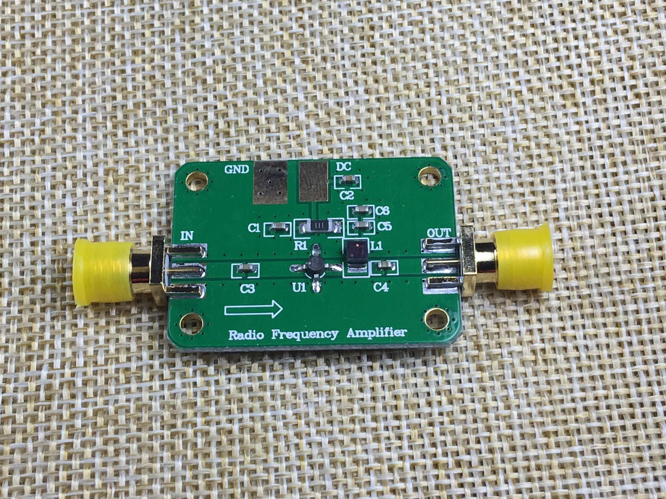 RF Amplifier Low Noise Broadband LNA 1M-2GHz