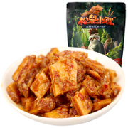 Three squirrel small base bull backstraps 120g Sichuan snacks barbecue flavor snacks