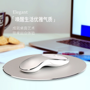 Ice fox Aluminum Alloy wireless mouse charging mute silent and portable notebook unlimited Gaming Mouse