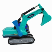 Small excavator 4 children excavator engineering vehicle model baby boy toy car 3-6 years old at the age of 2 years old