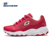 Skechers Cage, lovers, breathable sports shoes, retro thick bottom casual running shoes 66666058