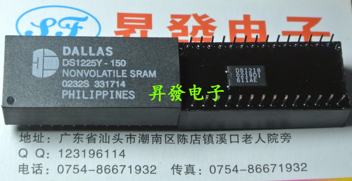 〖Shengfa Electronics》Clock Chip DS1225Y DS1225Y-150 -200 -170 -100