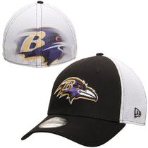 American direct mail 2111090 Baltimore Ravens NFL new cotton mens hat colour matching with breathable mesh Cap
