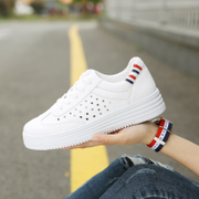 2017 new spring white shoes all-match Korean student street casual shoes breathable white shoes shoes in summer