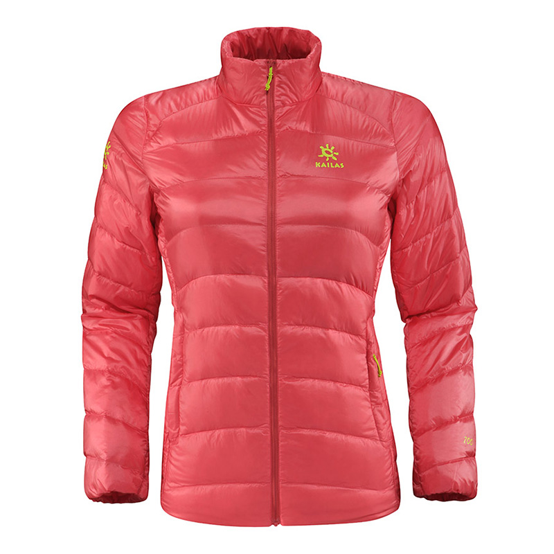 KAILAS/Kaileshi Female Down Jacket with Vertical Neck Down Garment Function and Air Permeability KG320064