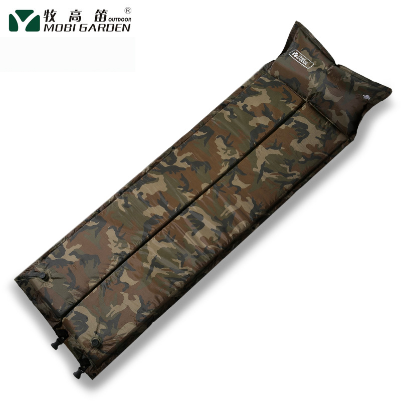 Picnic mattress automatic inflatable mattress moistureproof mattress nappad crawling mattress splicing tent mattress
