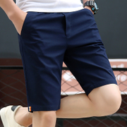 2017 summer casual shorts male Korean version of the five points of the large size of the code of moral training thin summer beach pants pants