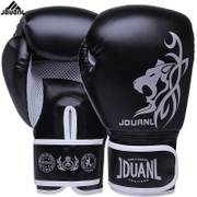 Nine Duan Long Boxing Gloves Adult fist professional Muay Thai boxing training Sanda game playing sandbags fighting gloves