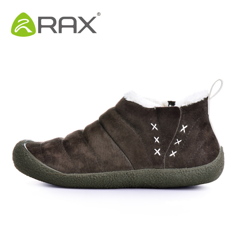 [The goods stop production and no stock]RAX (clearing warehouse) Autumn and Winter style snowflake boots for men and women's footwear skid-resistant wear-resistant outdoor lazy shoes