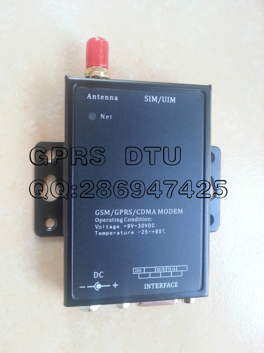 Industrial GPRS DTU Supports Point-to-Point Remote Wireless Data Transparent Transmission NL886D