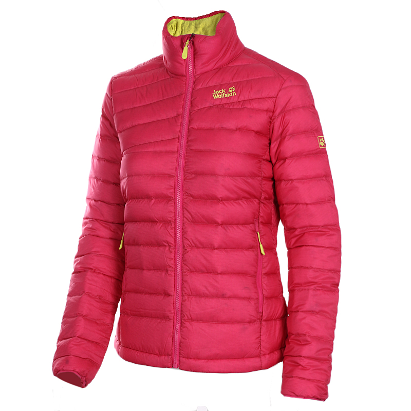 [The goods stop production and no stock]Jack wolfskin Wolf claw winter female sports outdoor collar warm down jacket 5009541