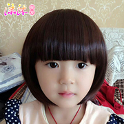 Korean baby girls hair wig wig wig hair Princess Korean children headdress baby pictures section