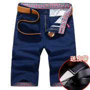 In summer men's leisure pants shorts breeches Korean five pants tide 5 summer 7 seven tooling beach pants pants