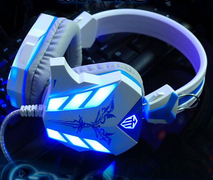 Cosonic Headphones USB Game Computer Headphones CH-6118 Internet Cafe Headphones Without Packing