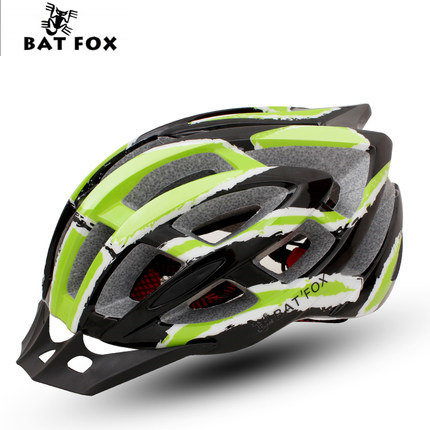 Jinbak One-piece riding helmet Mountain road bicycle helmet riding equipment Magic wind
