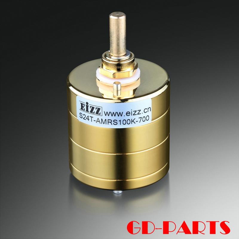 EIZZ Japon AMRS résistance stéréo 24 étapes stepper amplificateur volume dual-link potentialr 100K 250K