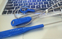 osprey platypus SOURCE water bag cleaning brush 揹 bag brush cup water pipe straw cleaning brush