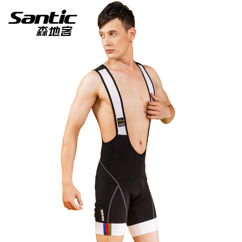 Santicson Dikker Summer Cycling Suit, Belt Trousers, Bicycle Cycling Suit, Suspender Shorts, Men's Comfortable Second Generation