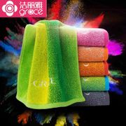 Jieliya towel Cotton veneer washrag soft thick towel absorbent cotton spring three pack mail