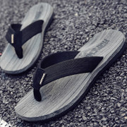 Flip flops male summer pinch sandals skid Korean personality 2017 new sandals sandals slippers outdoor tide male