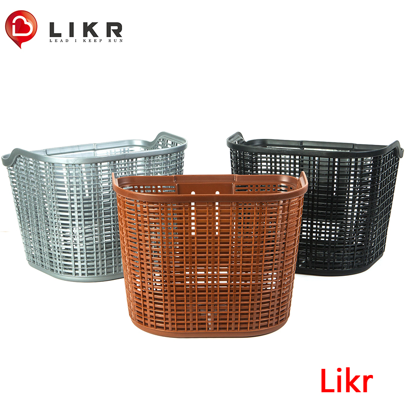 Bicycle basket mountainous bicycle folding bicycle basket electric bicycle STPP vegetable basket accessories