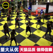 Support custom anti-slip taekwondo mat High density thickening training foam sports Cushion Gym Sanda