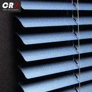 CR9 shutter curtain aluminum alloy shade Yang office waterproof bathroom bathroom kitchen partition custom