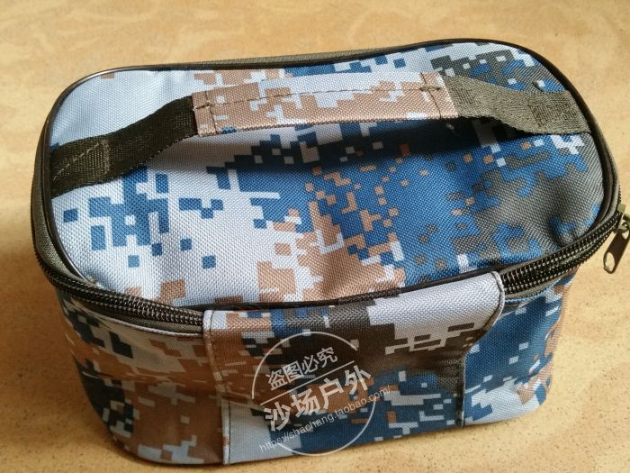Digital camouflage wash bag outdoor outdoor travel daily necessities
