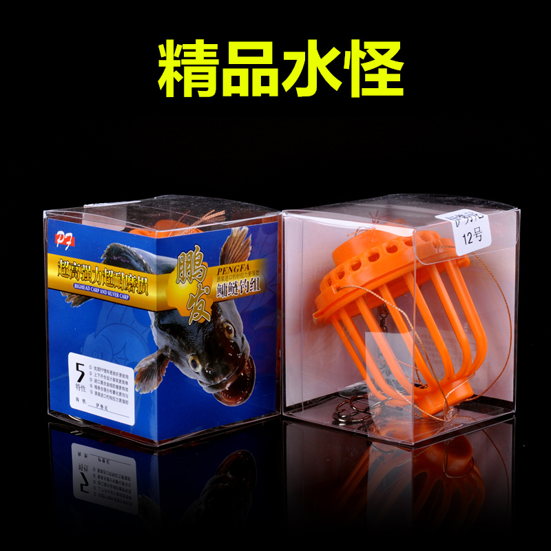 Monsters explosion hook mine fishing cage fishing rod fishing rod grass carp carp hook group hooks bomb hook fishing gear
