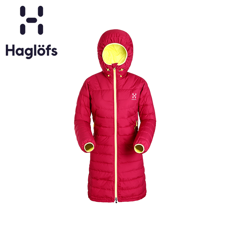 Haglofs Matchstick Sports Outdoor Women's Water-proof Durable Hat Down Coat 602712 European Edition
