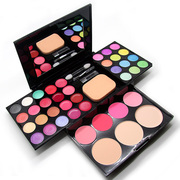 Genuine makeup makeup compact disc 39 color makeup suits full combination powder eye shadow Pearl Addie silk beauty