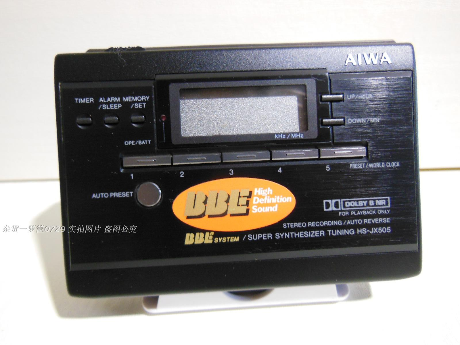 [Secondhand products]Second-hand AIWA/AIWA HS-JX505 JX505 tape player Walkman cassette player tape radio (2)