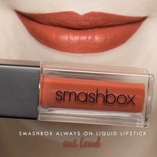 Spot Smashbox Matte Lip Glaze Outloud Baby Alert Stepping Out Bawse