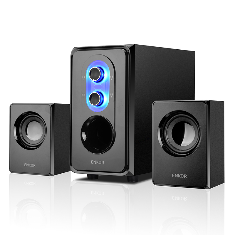 Enke e50 notebook audio 2.1 home computer subwoofer desktop active speaker audio