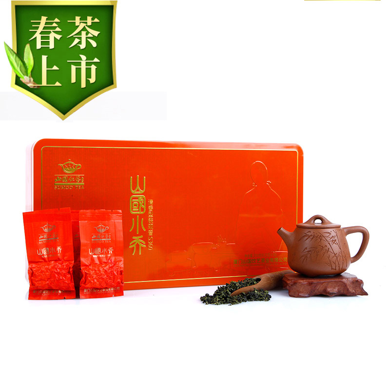 Spring Tea Mountain National Drinking Art Oolong Tea Bright-scented Tieguanyin Xiaoqiao S360 New Tea 250g Gift Box