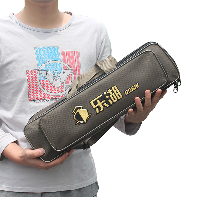 Lehu 40/50/60cm sea bream bag fishing gear bag small sea bream short section 竿 竿 竿 竿 竿 包 package mini fishing bag