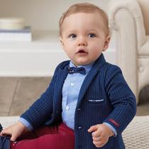 Espagne mayoral enfants de Blazer garçons Robe blouse Printemps Et Automne modèles Confortable Mâle bébé costume