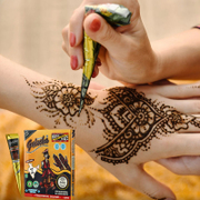 Tattoo tattoo tattoo painless and durable waterproof semi permanent henna tattoo paste template simulation set
