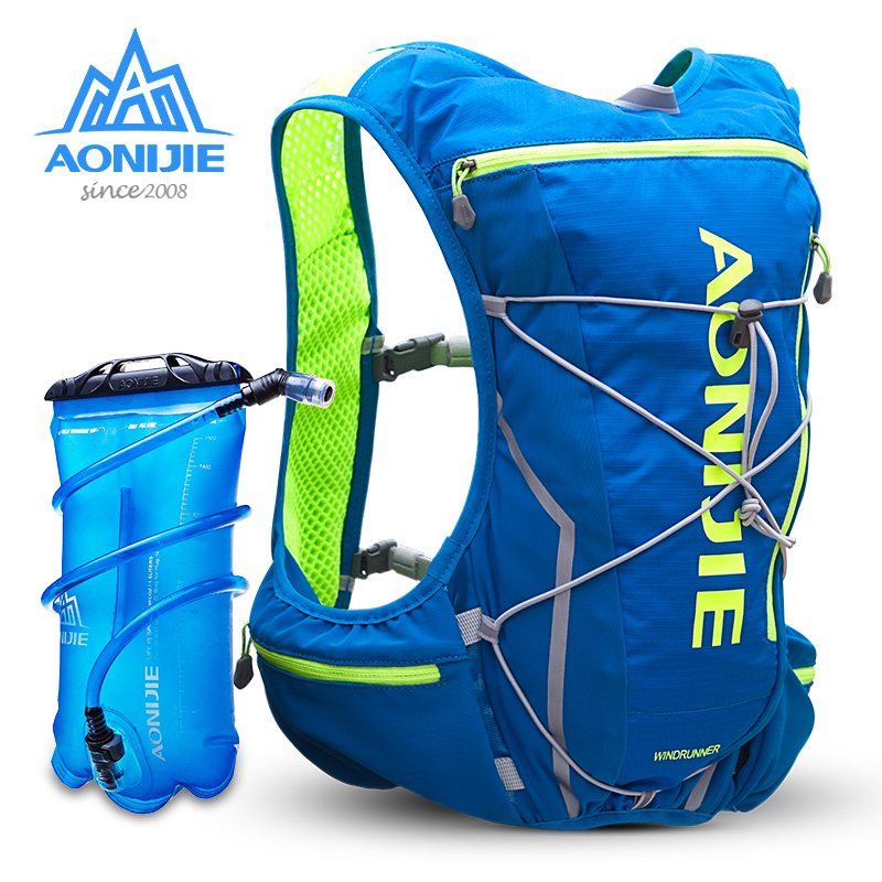 Aonijie cross-country running backpack men and women ultra light marathon water bag vest outdoor sports running backpack 10L