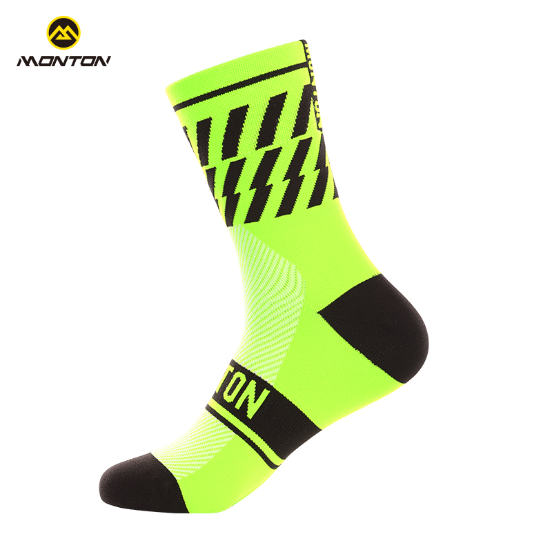 Monton cycling, Monton pulse riding socks long tube unisex outdoor sports wear-resistant deodorant bicycle