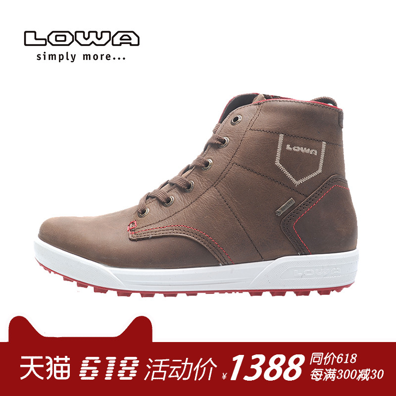LOWA Outdoor LONDON GTX QC Men's Waterproof and Warm Mountaineering Shoes, Snow Boots L410544