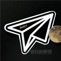 May Axin Sticker Stayreal Logo Aircraft Suitcase Sticker Computer Sticker 3M Grinding