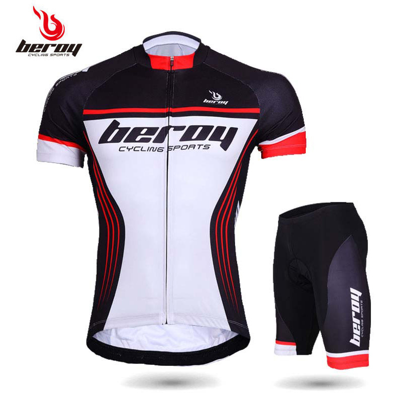 Men's Short Sleeve Cycling Suit Summer Permeable and Fast Drying Mountain Bicycle Clothing Spring and Summer Motion Bicycle Clothing