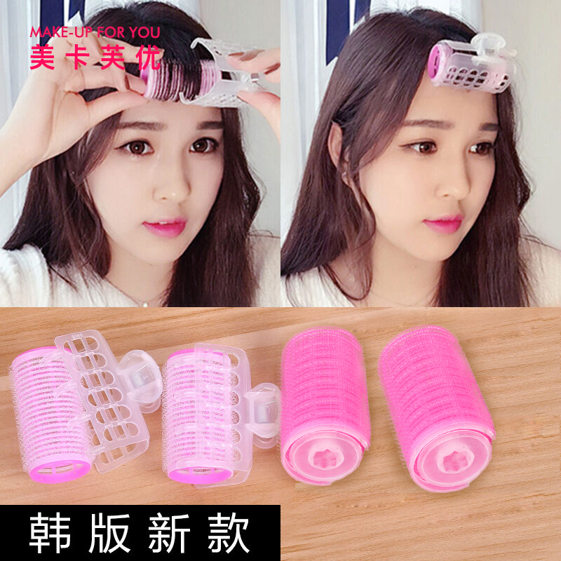 Mekafu Air LiuHai Curl Inner buckle Barrel LiuHai Hair Curl Bar Double-layer Self-adhesive Pear Flower Curl Tool