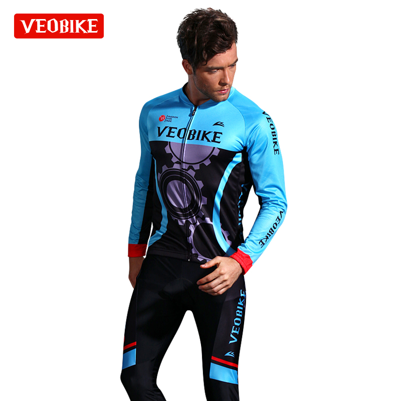 VEOBIKE only send mountain bike road bike long sleeve riding suit suit spring and summer autumn cycling wear clothing