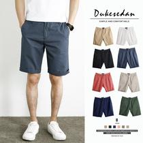 Été coton décontracté shorts hommes lâche mince section porter 5 points pantalon version coréenne de la tendance sauvage cinq points pantalon hommes