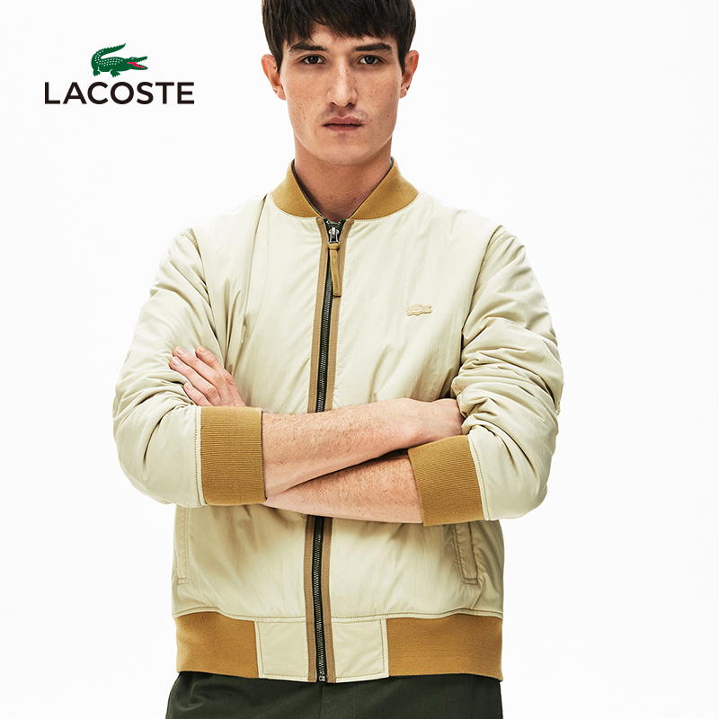 Lacoste French crocodile men's wear 20 spring and summer new double-sided casual jacket cotton coat men's bh5299n1